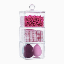 Re 3 layer stackable acrylic cosmetic organizer %28no. 6019c%29