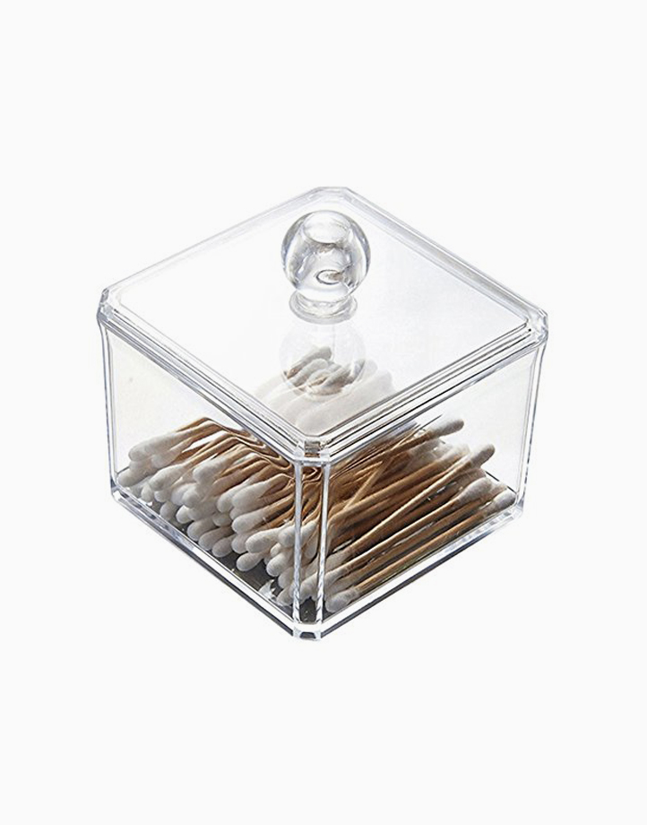 Cotton Ball and Swab Acrylic Cosmetic Organizer (No. 6019A) by Lulu Travels