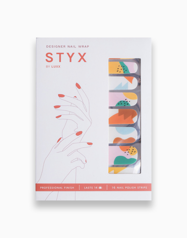 STYX by Luxx Nail Wraps – Tropical Punch (Designer) by Luxx Lash