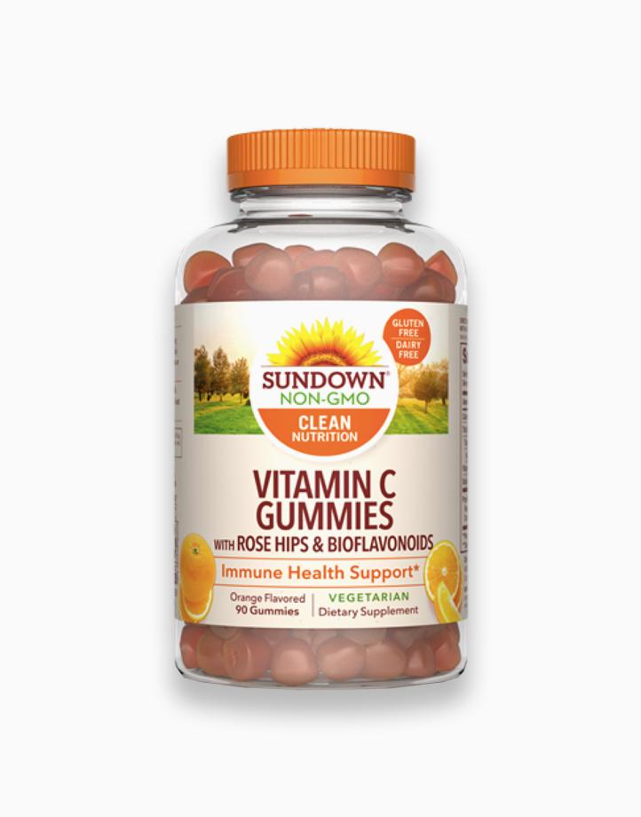 Vitamin C Gummies with Rosehips & Bioflavonoids (90 Gummies) by Sundown