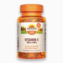 Vitamin E 180mg / 400 IU (100 Softgels) by Sundown