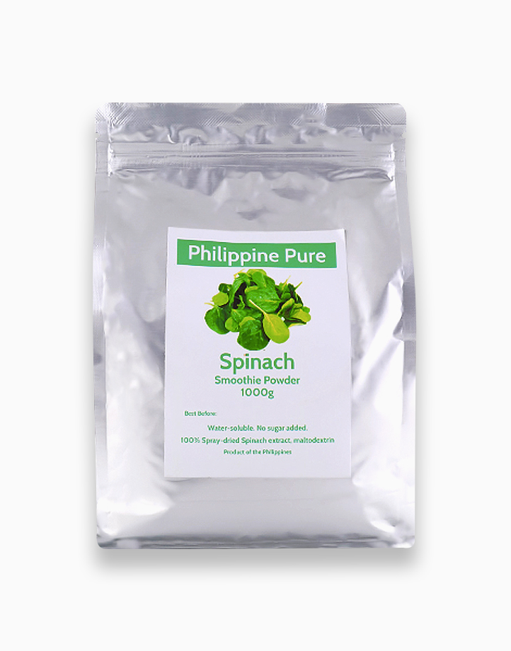Spinach Smoothie Powder (1000g) by Philippine Pure
