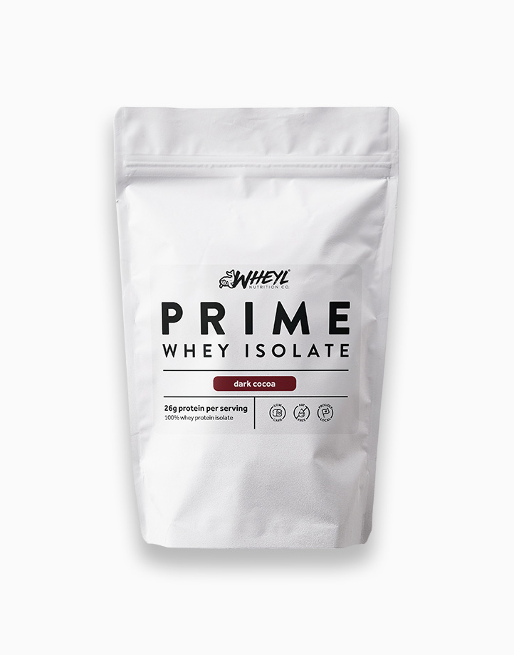 Prime Dark Cocoa Whey Isolate (454g) by Wheyl Nutrition Co.