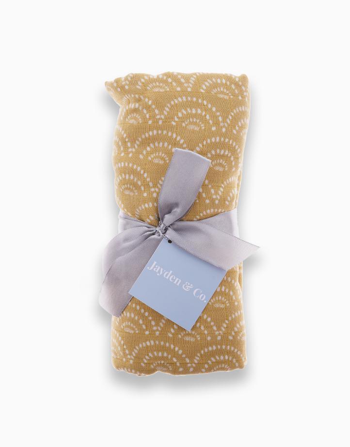 Muslin Swaddle Blanket by Jayden & Co. | Sunset