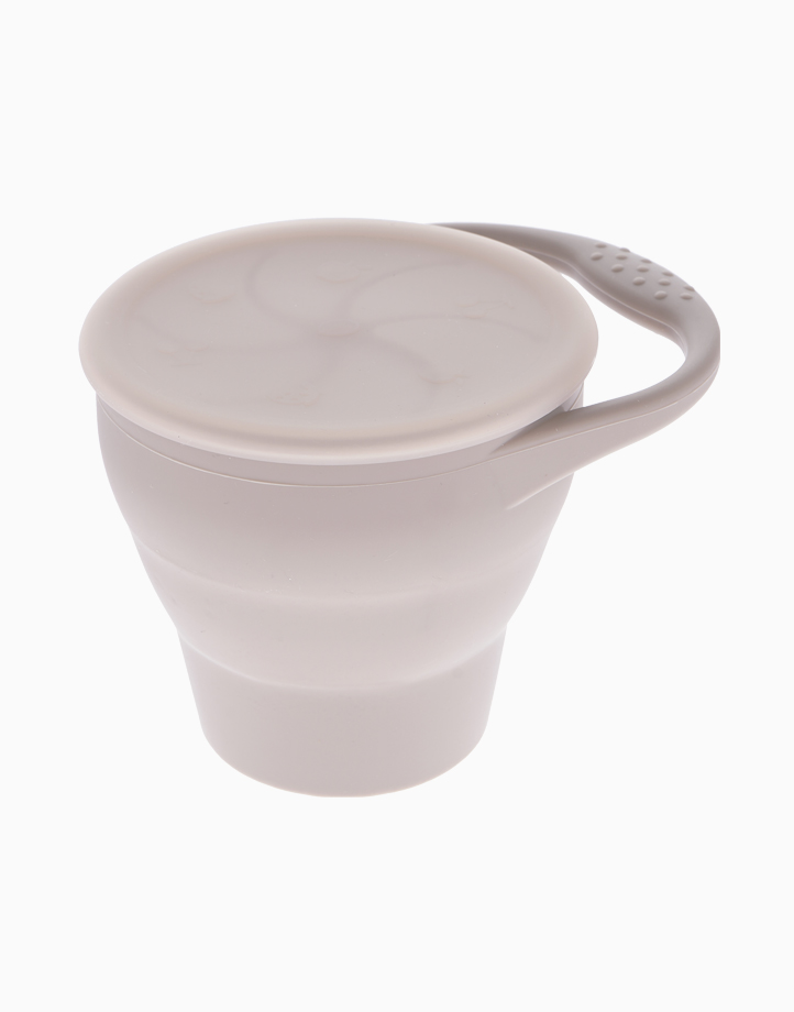 Silicone Snack Cup by Jayden & Co. | Taupe