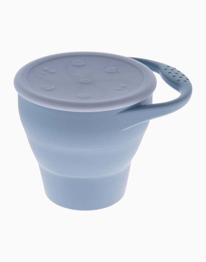 Silicone Snack Cup by Jayden & Co. | Dusty Blue