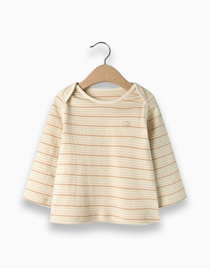 Basic Shirt (Stripes) by Kat & Co.   12 months