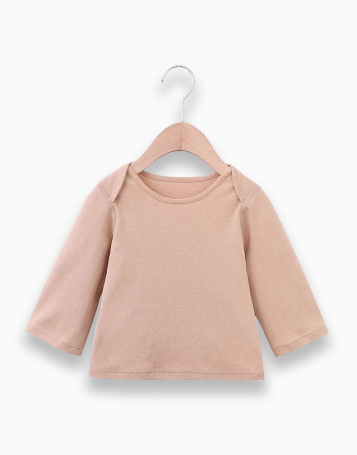 Basic Shirt (Brown) by Kat & Co. | 9 months