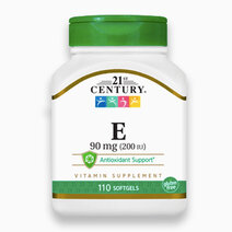 21st century vitamin e %2890mg   200 iu   110 softgels%29