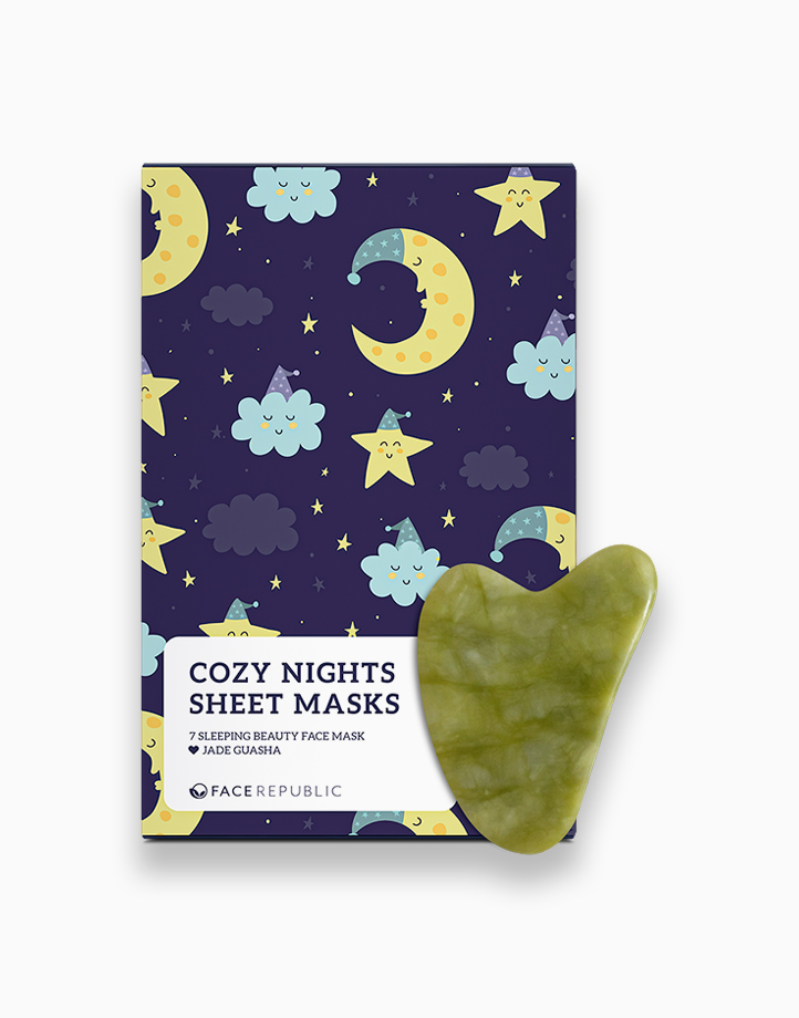 Cozy Nights Sheet Masks + FREE Gua Sha by Face Republic