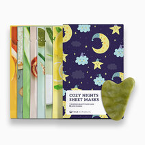 Re cozy nights sheet masks free gua sha 1