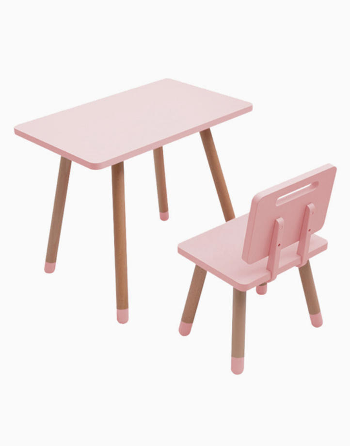 Study Desk and Chair by Kiddi Company | Pink Puff
