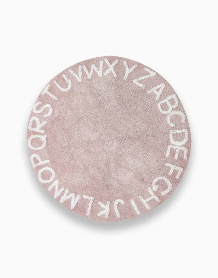 Alphabet Rug by Kiddi Company | Pink