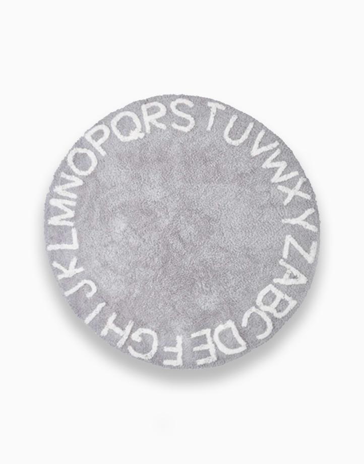 Alphabet Rug by Kiddi Company | Grey