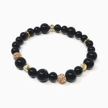 Re achiever bracelet with black onyx 1