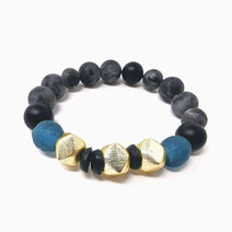 Re achiever bracelet with black onyx and larkavite 2