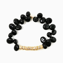 Re conquer and protect bracelet with black obsidian 2