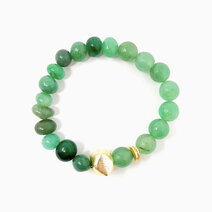 Re fortune awaits bracelet with green aventurine 1