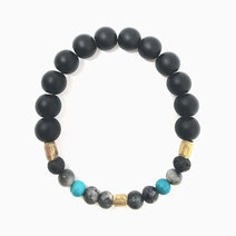 Re higher power bracelet with black onyx black labradorite and turquoise %28unisex%29 1