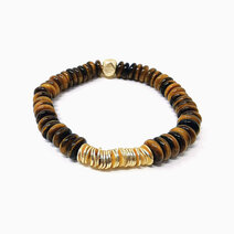 Re live the dream bracelet with tiger eye heishi crystals jewels fo the nile %28unisex%29 1