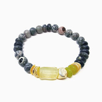 Re peace love  harmony bracelet with prehnite jade and earth jasper %28for men%29 1