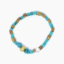 Re true purpose bracelet with turquoise and clear quartz jewels of the nile %28unisex%29  1