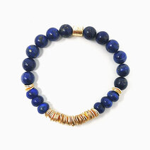 Re true wisdom bracelet with lapiz lazuli jewels of the nile %28unisex%29 2