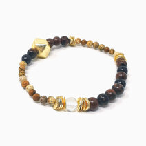 Re unlock your power bracelet with mahogany obsidian  picture jasper and clear quartz jewels of the nile %28unisex%29 1