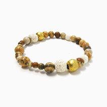 Re vitality bracelet with picture jasper lava diffuser stone %28unisex%29 2