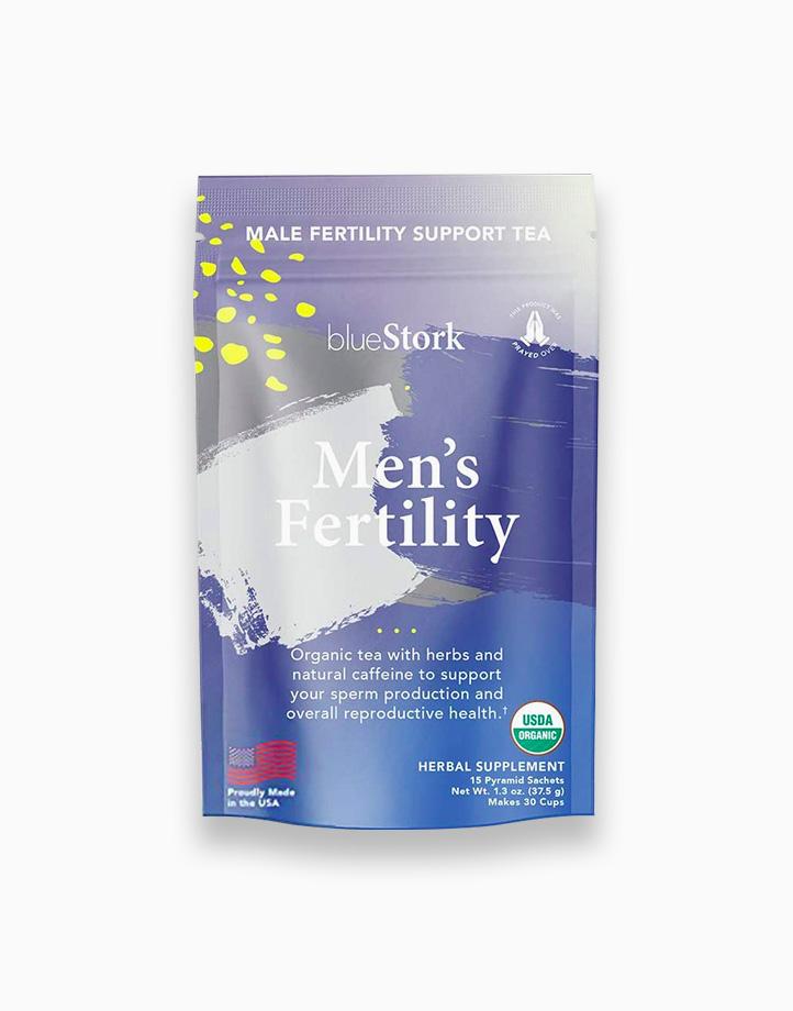 Blue Stork Fertility Tea: Mint Male Fertility Tea (30 cups) by Pink Stork