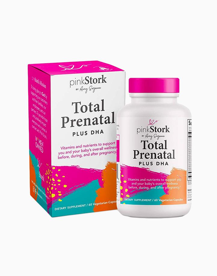 Prenatal plus DHA (60 Vegetarian Capsules) by Pink Stork