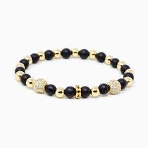 Achiever black onyx crystal bracelet