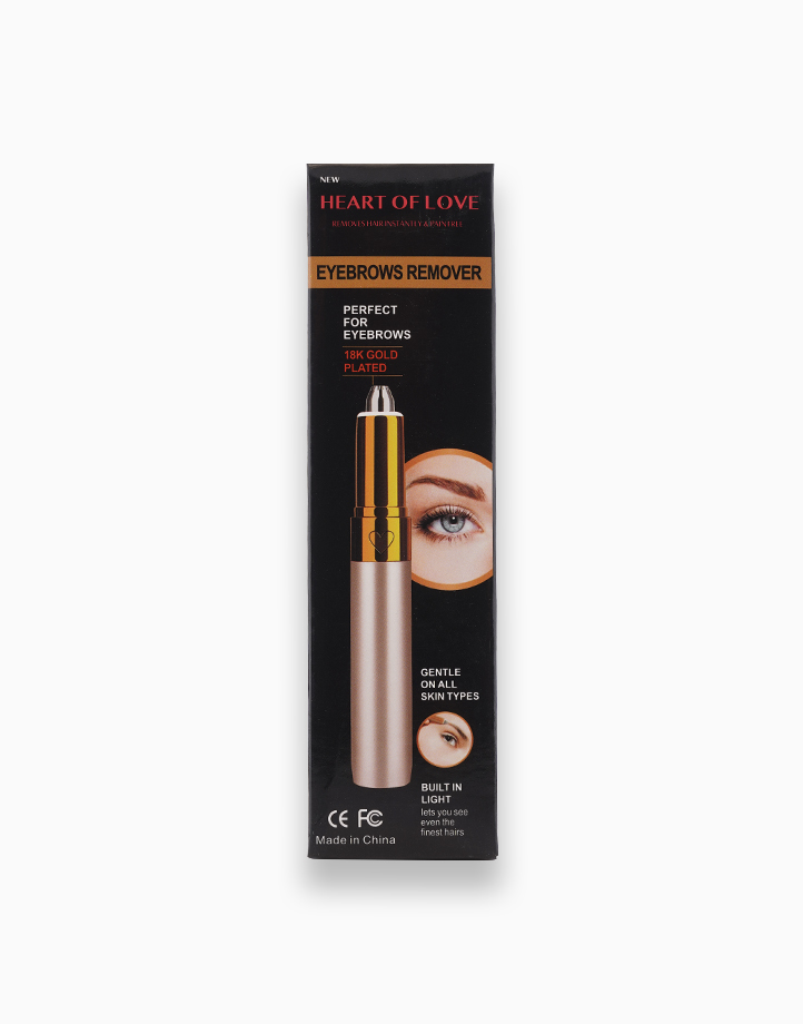 18K Gold Plated Eyebrows Remover by Dr. Beauty