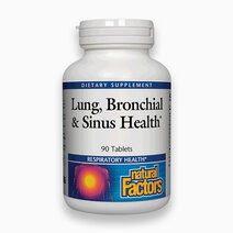 Lung, Bronchial & Sinus Health (90 Tabs) by Natural Factors