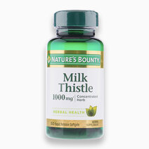 Milk Thistle (1,000mg, 50 Rapid Release Softgels) by Nature's Bounty