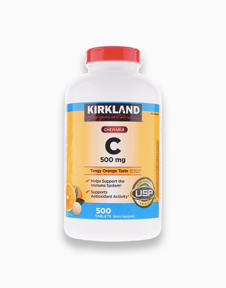 Chewable C (500mg, 500 Tabs) by Kirkland