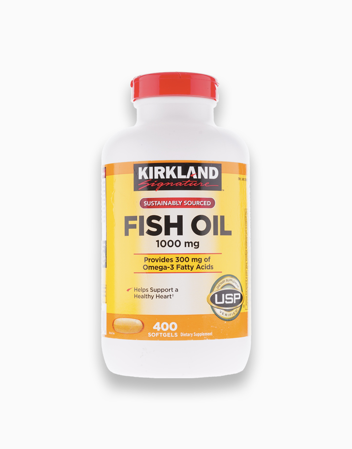 Fish Oil 1000mg (400 Softgels) by Kirkland
