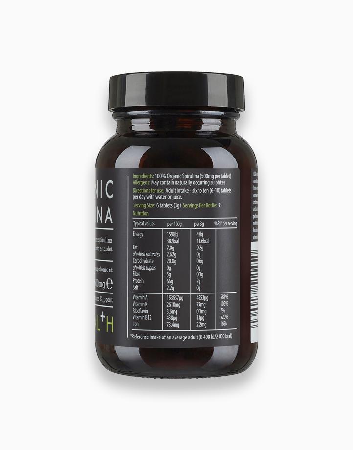 Organic Premium Spirulina Tablets (200 Tablets) by Kiki Health