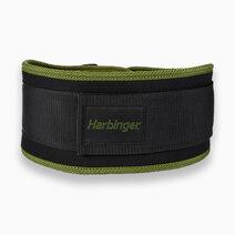 """Women 5"""" Foam Core Belt (Green) by Harbinger"""