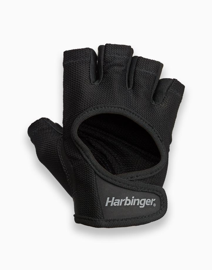 Womens Power Gloves (Black) by Harbinger | Large