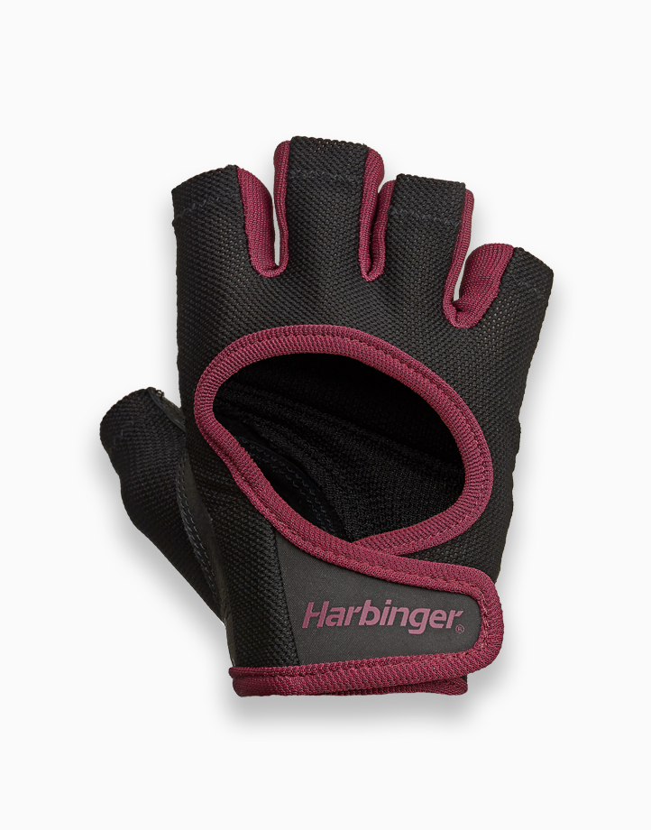 Womens Power Gloves (Merlot) by Harbinger | Medium