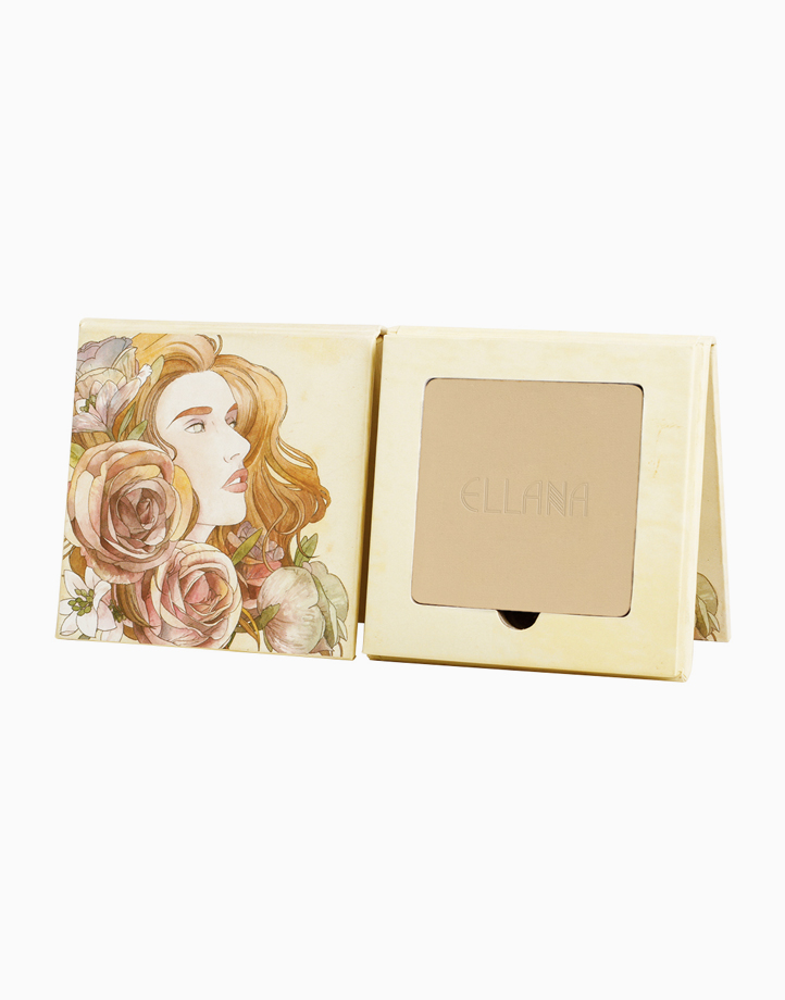 Pressed Mineral Foundation with Phoebe Palette by Ellana Mineral Cosmetics | French Vanilla