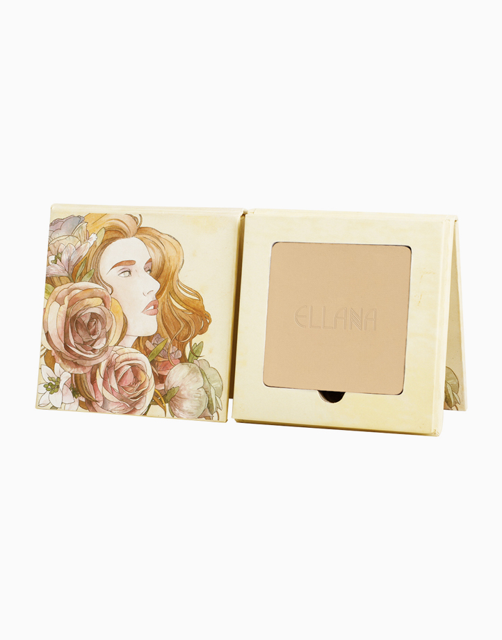 Pressed Mineral Foundation with Phoebe Palette by Ellana Mineral Cosmetics | Chai Tea