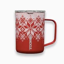 Corkcicle 16oz Coffee Mug (Fairisle Christmas Collection) by Corkcicle
