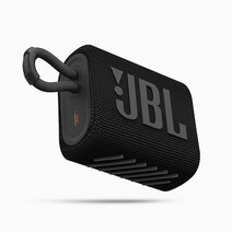 Jbl go 3 portable waterproof speaker black