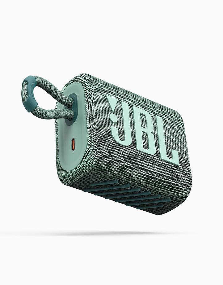 Go 3 Portable Waterproof Speaker by JBL | Teal