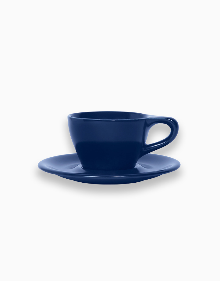 Lino Coffee Cups 6 oz. Double Cappuccino by notNeutral   Indigo