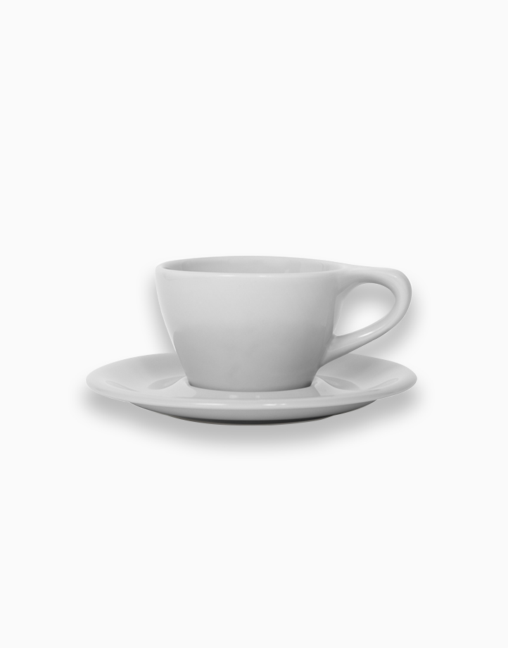 Lino Coffee Cups 6 oz. Double Cappuccino by notNeutral   Light Gray
