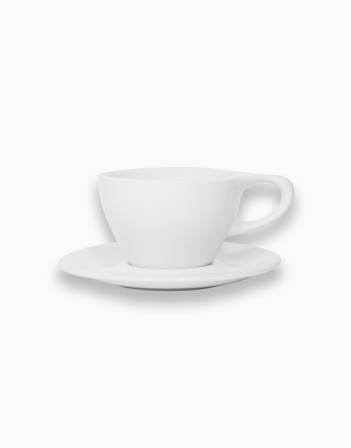 Lino Coffee Cups 8 oz. Small Latte (White) by notNeutral