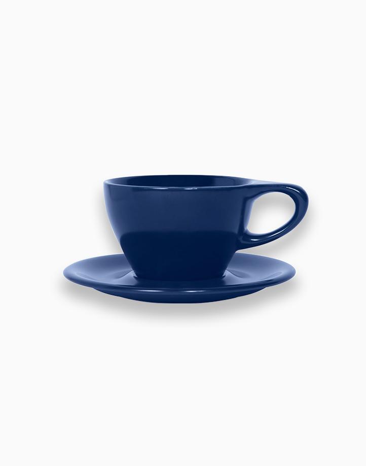 Lino Coffee Cups 8 oz. Small Latte by notNeutral   Indigo